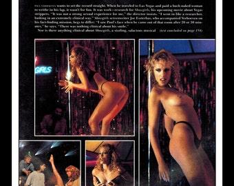 "Mature Celebrity Nude : Elizabeth Berkley Single Page Photo Wall Art Decor 8.5"" x 11"""