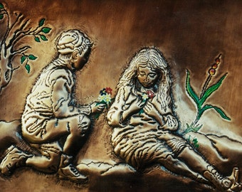 Handmade Copper Art Work