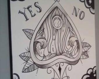 Ouija Painting
