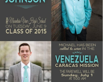 Graduation and Mission Announcement