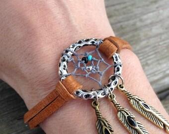 Dreamcatcher Bracelet 7 inches length