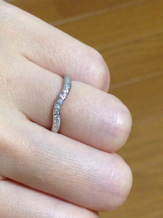 Beautiful new wedding rings Tiffany elsa peretti wedding ring