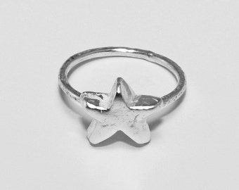 Star Stack Ring Sterling Silver