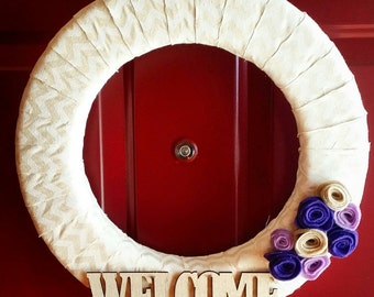 15 inch Welcome Wreath