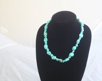 Natural Nevada Turquoise Necklace