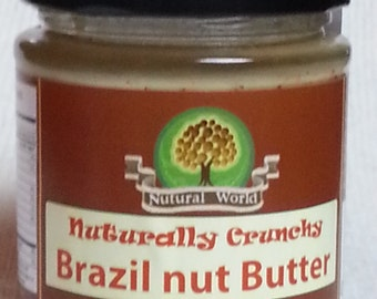 Brazil nut butter, delicious and pure without any additives