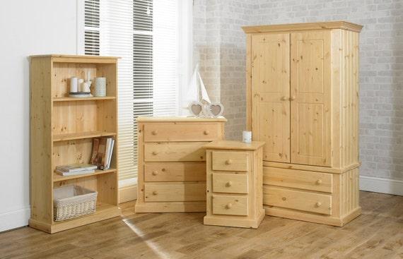 Ready assembled handmade bedroom furniture natural by for Ready to assemble bedroom furniture