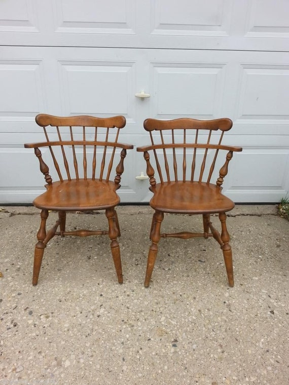 ethan allen mates chairs dining room comb back by