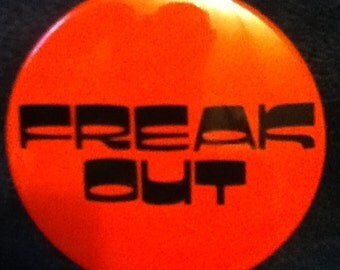 3 inch vintage pinback buttons referencing the group Chic and the song le freak