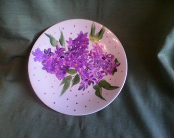 Limoges France hand painted plate