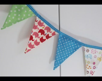 Colourful Bunting, Elephant Bunting, Party Garland