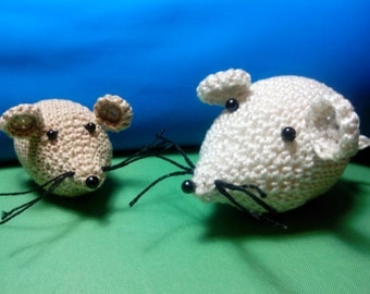 RATITAS CROCHET - hook Rats - 大鼠钩针