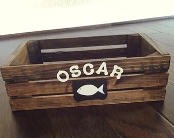 Cat Toy Storage - Fish