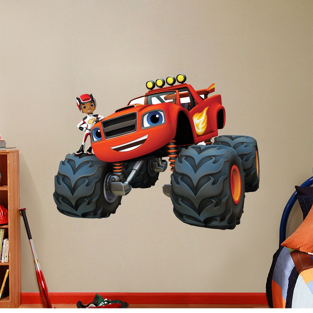 Blaze And The Monster Machines Huge Large By