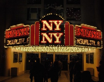 NY NY Casino Entrance