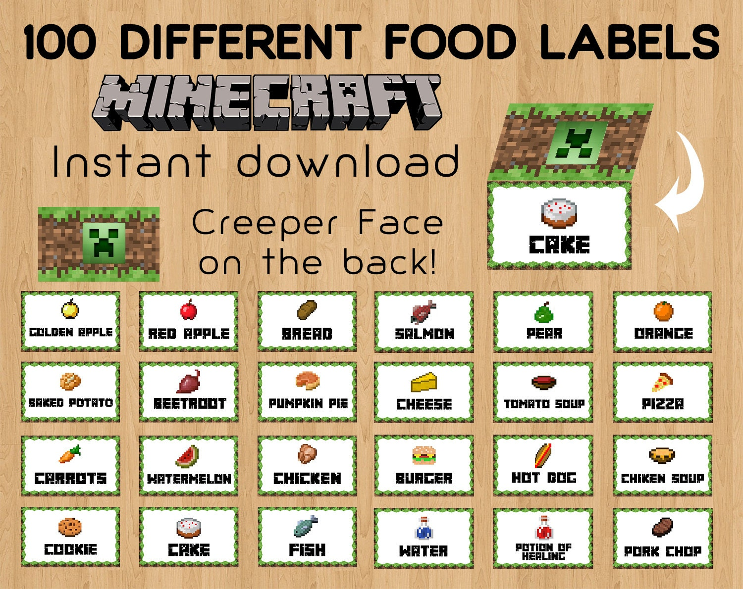 food tent cards related keywords suggestions minecraft food tent