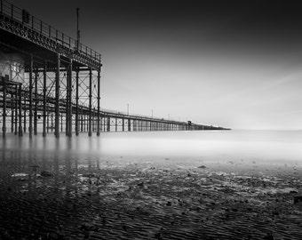 Coastal Fine Art: Long Exposure sea photography Southend Pier longest in the world