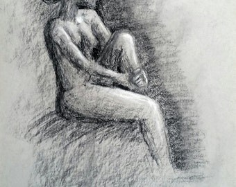 Figure Drawing - Original