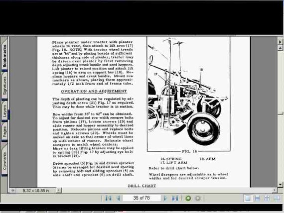il_570xN.742239601_ral0 allis chalmers g service manual ac tractor repair overhaul & allis chalmers g wiring diagram at reclaimingppi.co
