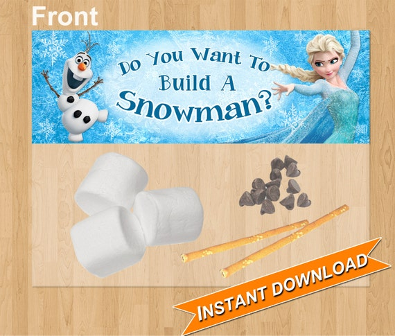 frozen favor bag topper do you want to build a car interior design. Black Bedroom Furniture Sets. Home Design Ideas