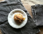 MOTHER'S DAY GIFTS, Gray Linen Napkins, Choose Your Quantity