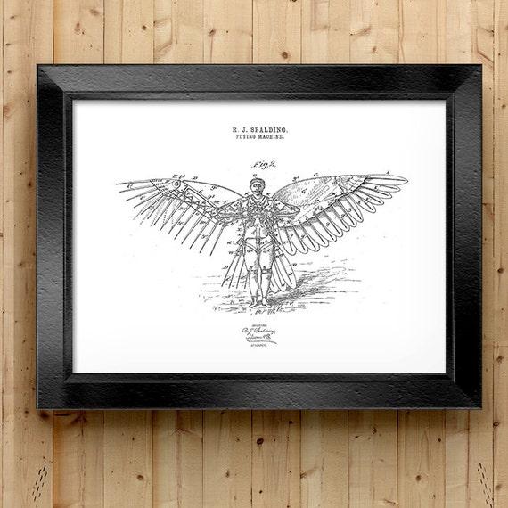 Weird Home Decor: Home Decor Airplane Art Weird Patent Patent Art Patent