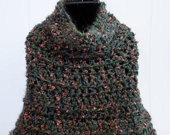 Handmade Crochet Cape/poncho/wrap/shawl