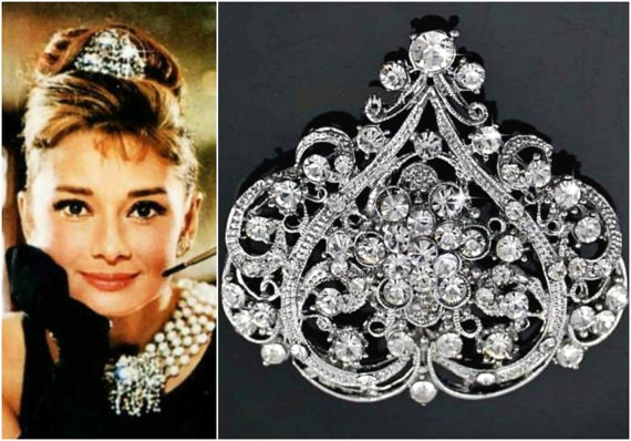 verkauf tiffany audrey hepburn headpiece fr hst ck bei. Black Bedroom Furniture Sets. Home Design Ideas