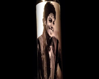 """Michael Jackson Thriller 2x8"""" Candle from Toxxic Candles"""