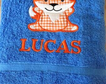 SALE Lucas Fox Bath towel - Blue