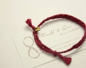 simple bracelet with small heart