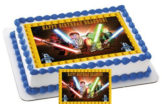 Lego Star Wars Characters 3 Edible Cake & by ...