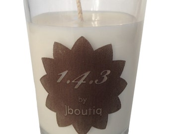 1.4.3 organic soy candle made with pure essential oils