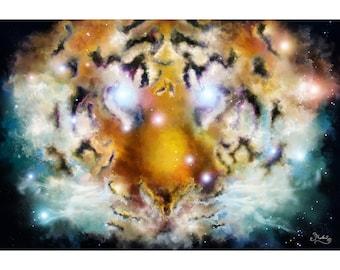 Tiger nebula