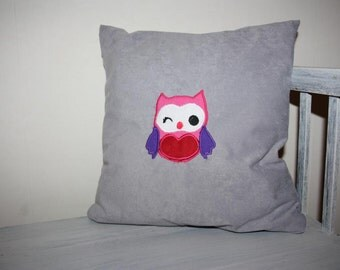 Owl pillow cushion cover cushion cover