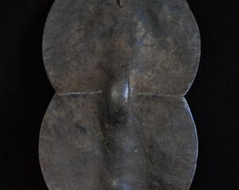 African Tribal Art - Hide shield, Sukuma, Tanzania