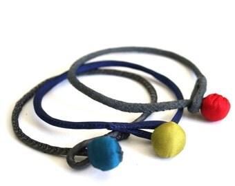 Silk Bracelets (Set of 3)