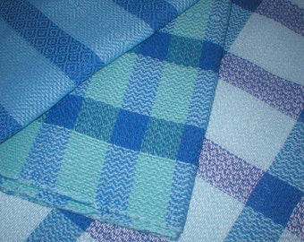 Handwoven kitchen towels made with 100% cotton grown in the USA