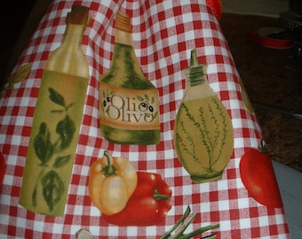 ITALIAN  Kitchen Towels - Flour Sack