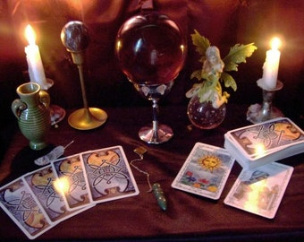 Tarot Reading with Shea Clairvoyant, Psychic Intutive, Same day tarot reading, 3 questions, 3 cards