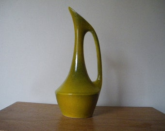 VINTAGE FRENCH VASE 1950 1960 aiguière / mid-century vase /1950's /1960's