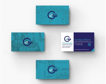 Business Card Design - Branding Identity, Print materials.