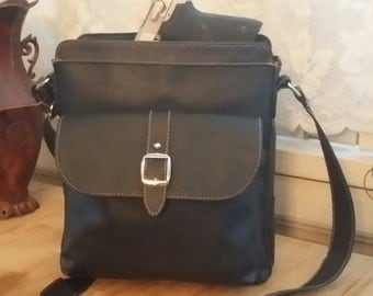 Black Crossover Conceal Carry Purse