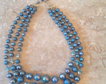 New Year special! Half price! Was 19.99.  Vintage triple strand necklace