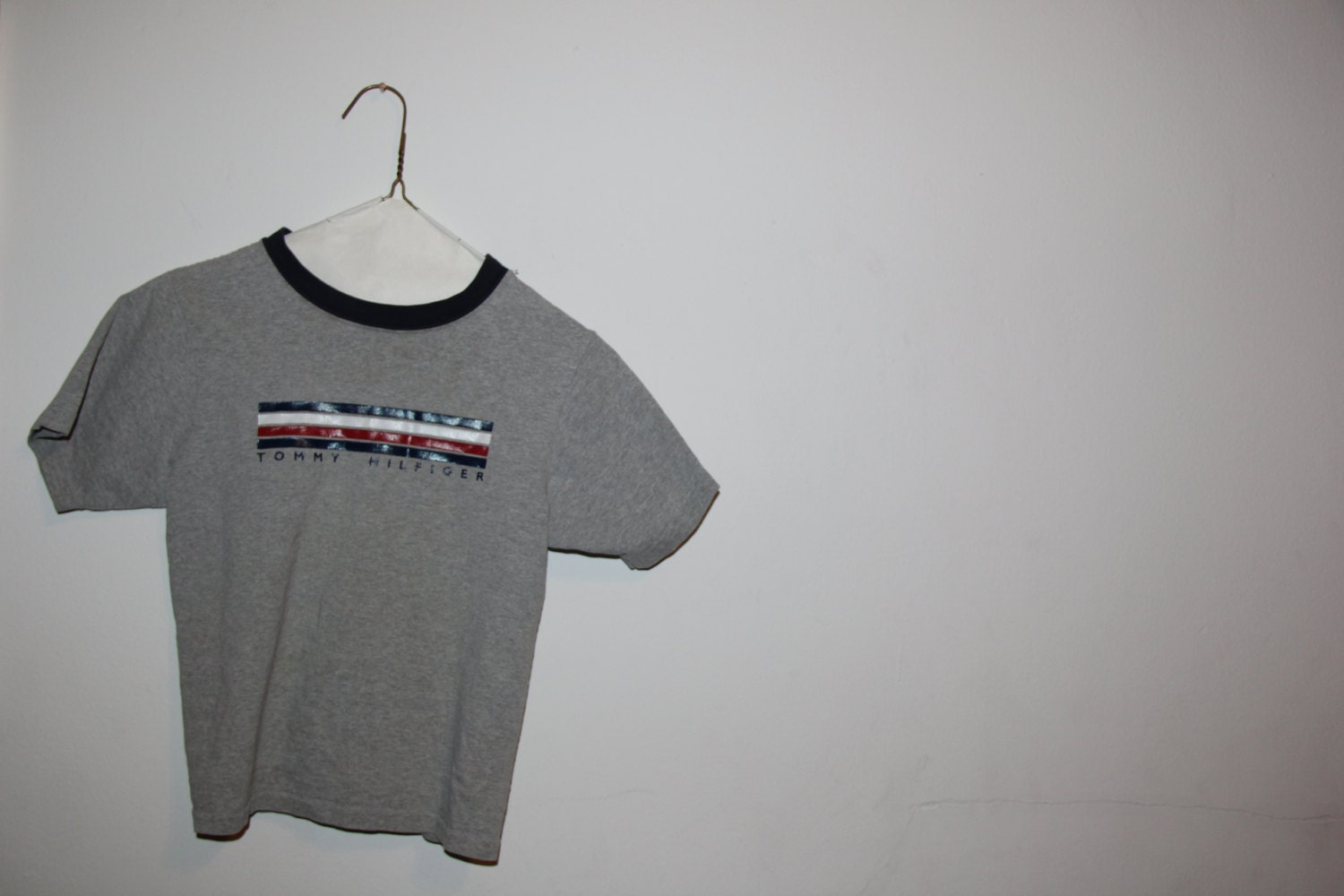 tommy hilfiger 90s t shirt by beanqueen615 on etsy. Black Bedroom Furniture Sets. Home Design Ideas
