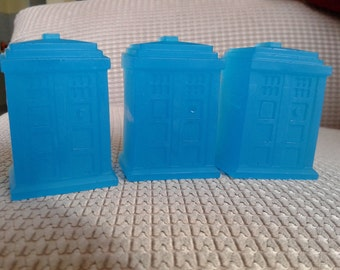 TARDIS soaps set of 3