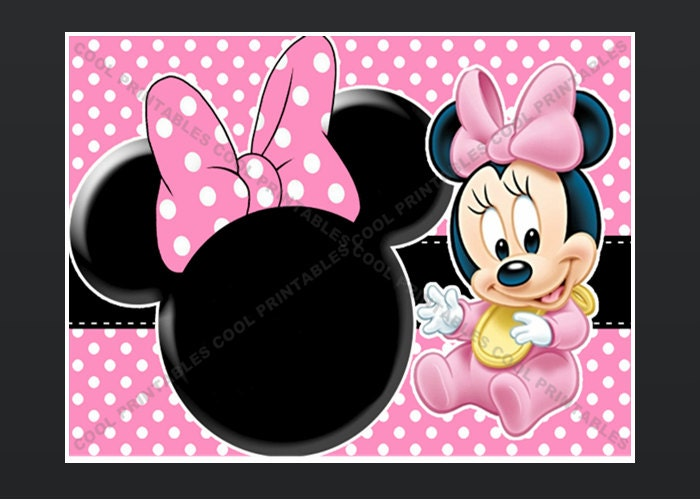 Minnie Mouse Blank Invitation Template Orderecigsjuiceinfo - Minnie mouse 1st birthday invitations templates