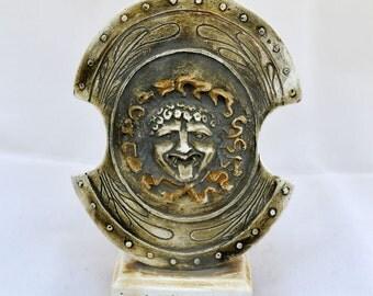Achllies Shield miniature sculpture