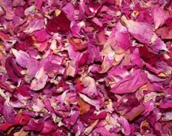 Red & Pink Rose Petals (Organic)