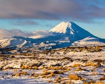 Icy Mount Tongariro